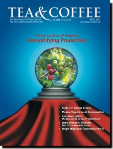 Tea & Coffee Apr 2013 Demystifying Organics p. 38 / Dispatches p. 26 http://tinyurl.com/tctj04-13